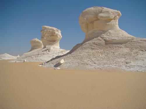 Roca fungiforme o en seta - White Desert (Egipto) - 02