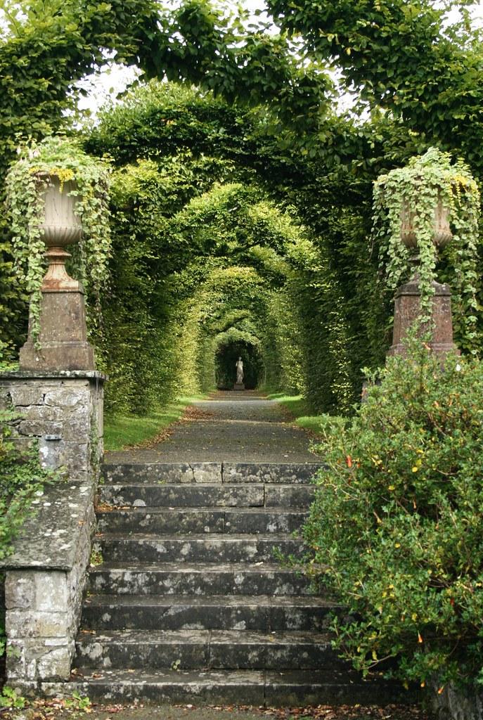 Birr demesne formal garden arbor luke ravitch flickr for Garden design jobs ireland