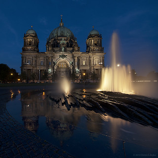 Berliner Dom With Reflection | by Dietrich Bojko Photographie