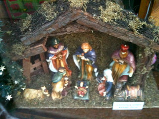 Nativity scene in the Christmas Shop Lechlade | by Tip Tours