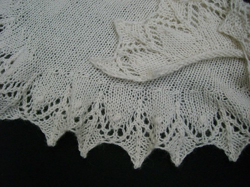 Annis Shawl natural | by helenepiano