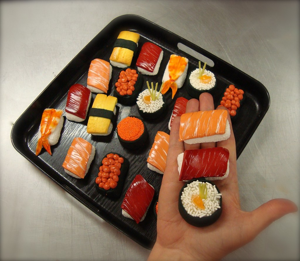 How To Make A Cake That Looks Like Sushi
