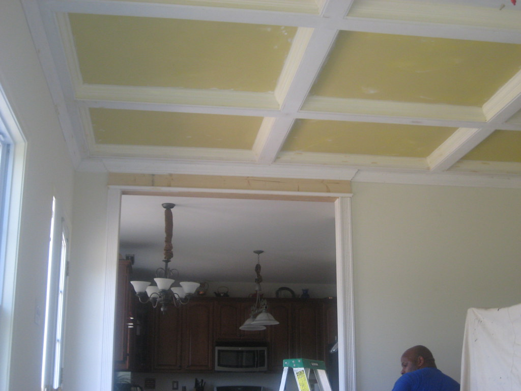 Home improvement ideas coffered ceiling (8) - The ...