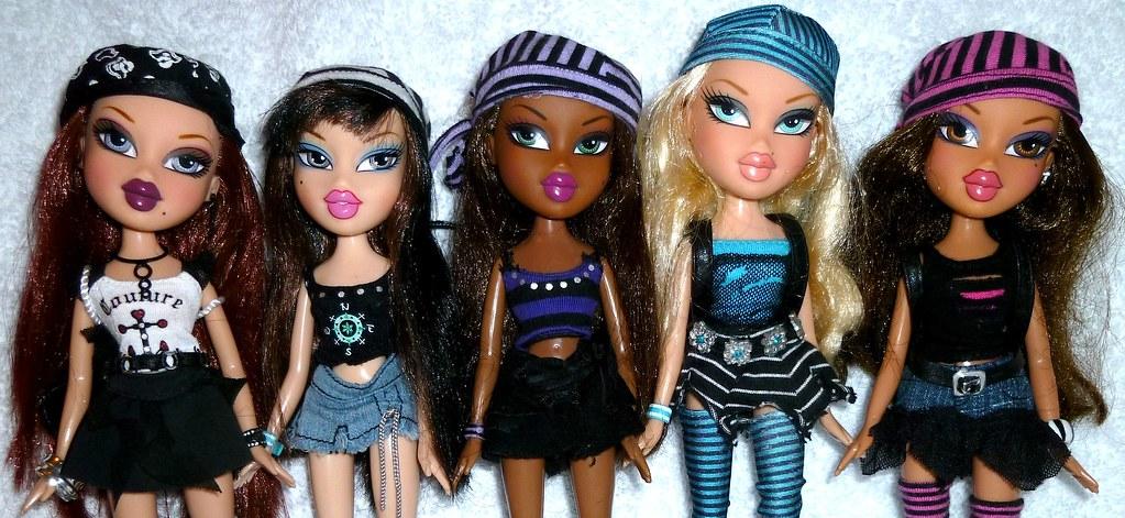 Bratz Treasures close up | Roxxi, Jade, Sasha, Cloe ...