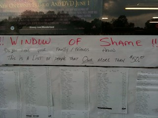 The Window of Shame | by passiveaggressivenotes
