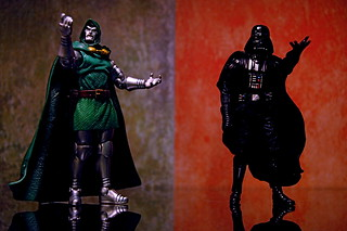Doctor Doom vs. Darth Vader (275/365) | by JD Hancock