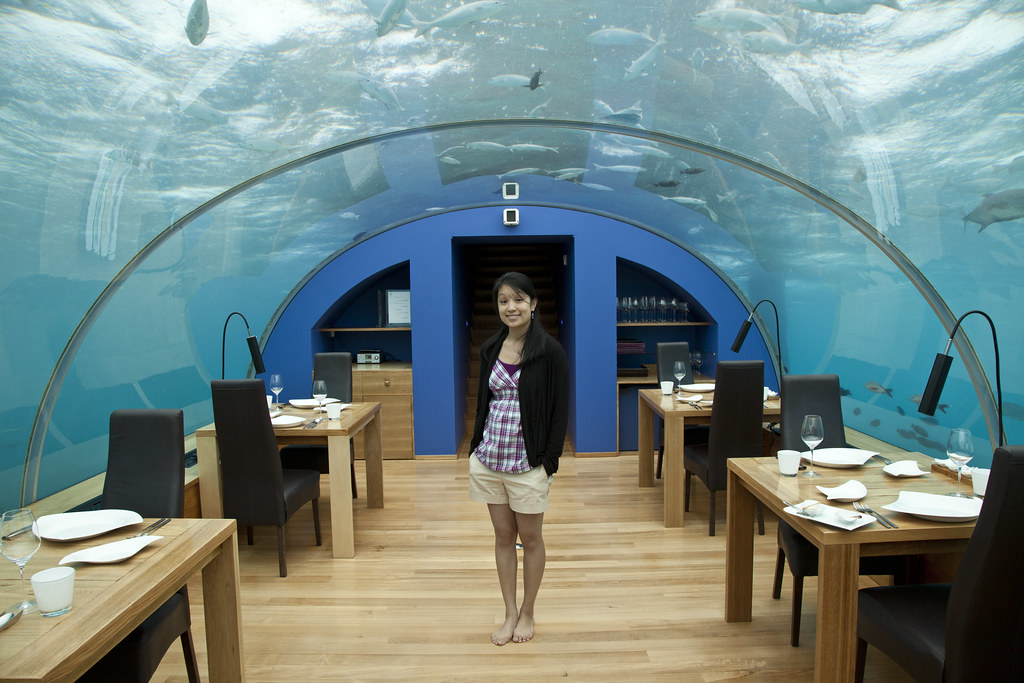 Ithaa Underwater Restaurant At The Conrad Maldives Flickr