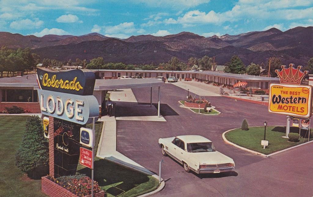 Colorado Lodge - 352 West Rainbow Boulevard, Salida, Colorado U.S.A. - 1960s