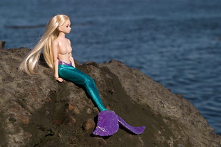 Mermaid Alice at the Ocean | by abs plastic