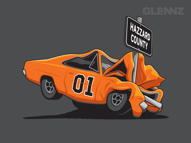 Hazzard County Concept Up For Voting At Glennz Tees