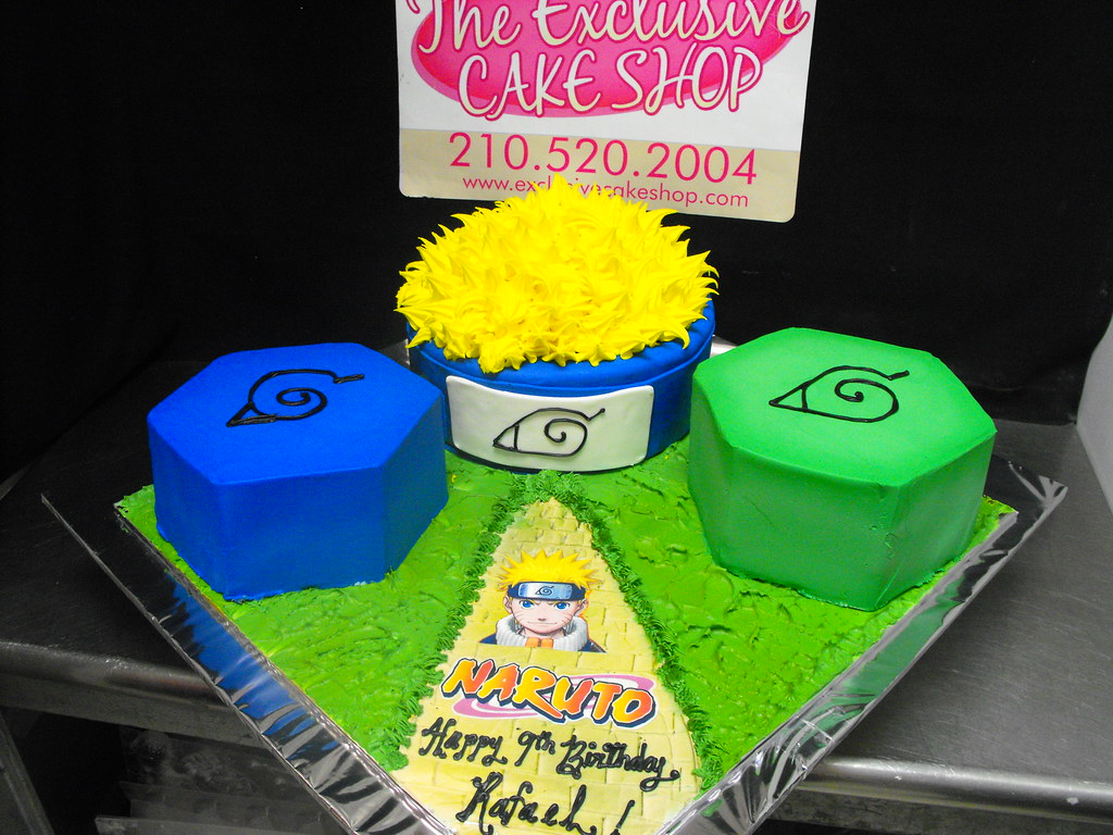 Images Of Birthday Cake With Name Raman : Naruto Birthday Cake Exclusive Cake Shop Flickr