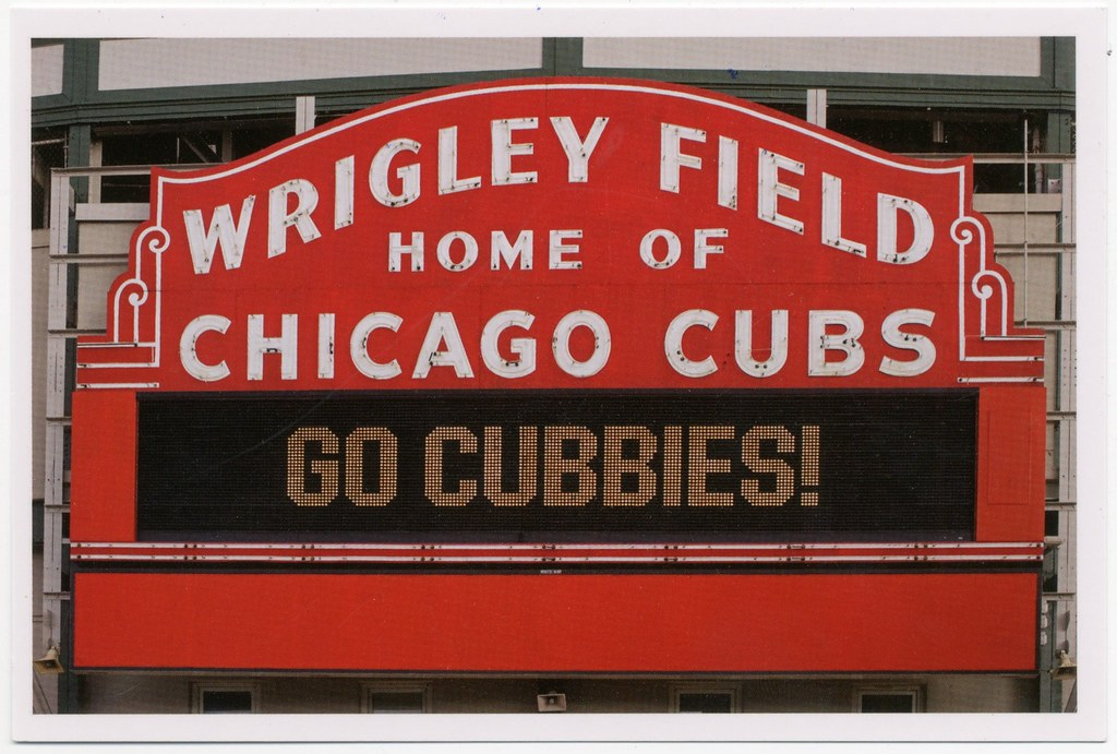 Wrigley Field home of Chicago Cubs, Go Cubbies ...