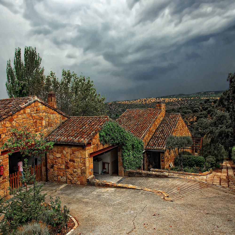 The storm molino de la hoz madrid spain george nutulescu flickr - Molino de la hoz ...