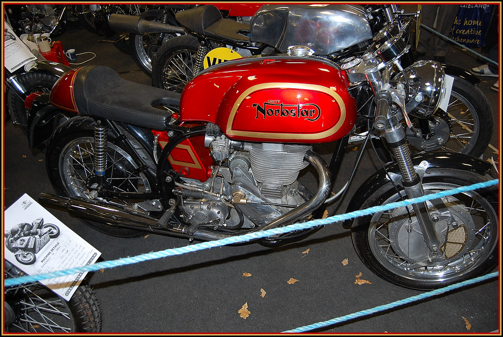 Best Used Motorcycles >> NORTON GOLD STAR. | A BSA Gold Star 500 CC engine in a Norto… | Flickr