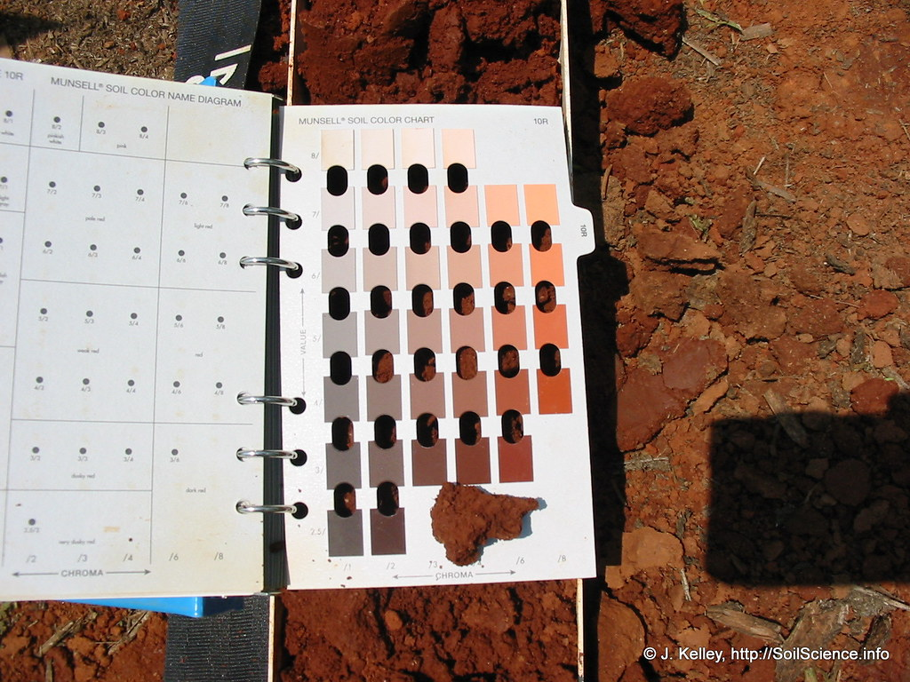 Soil Color Determination 1 A Munsell Color Book Can Be