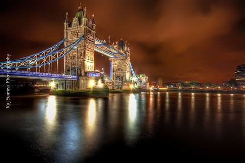 The Tower Bridge - London, England. | by Mach90