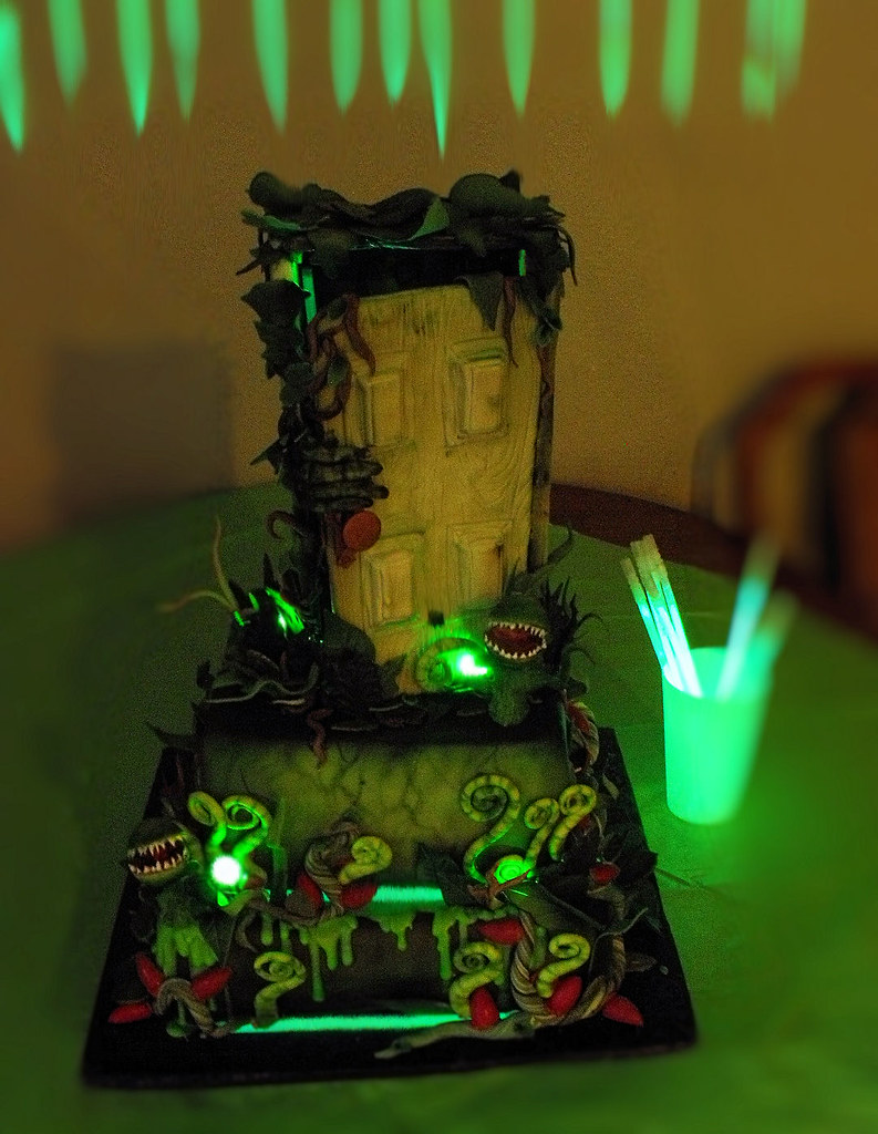 Goosebumps Quot Stay Out Of The Basement Quot Cake 1