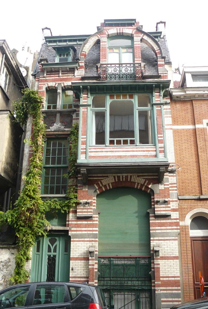 Bruxelles art nouveau belgique etterbeek architecte gu for Jardinier bruxelles