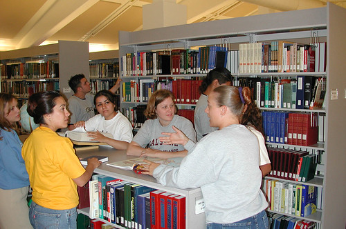 Students at Library | by California State University Channel Islands