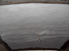 Headliner Insulation   I glued this on with just General Tri
