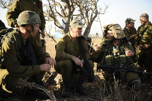 Chief of Staff Lt. Gen Gabi Ashkenazi Visits Nachal Brigade Exercise, Nov 2010 | by Israel Defense Forces