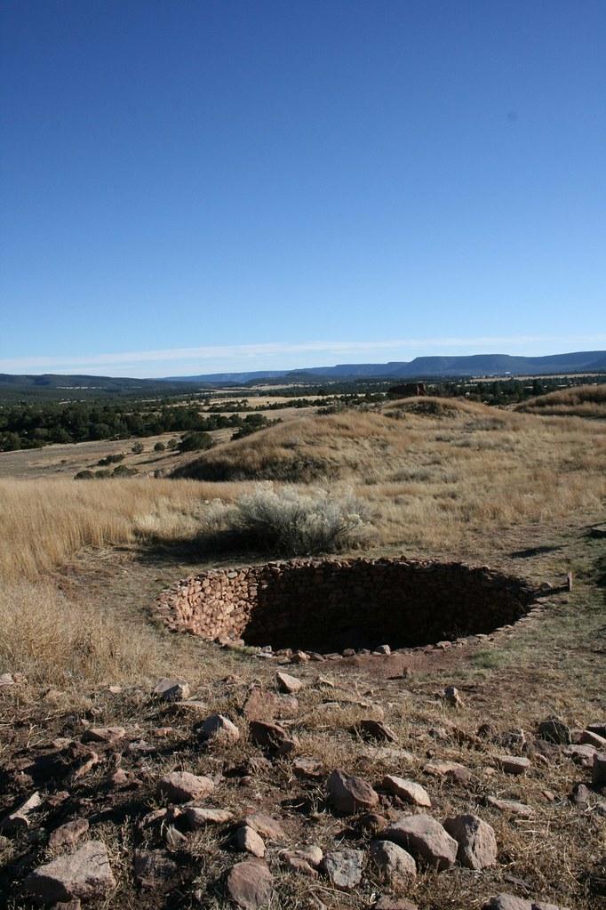 Pecos National Historical Park Southwest Of Santa Fe
