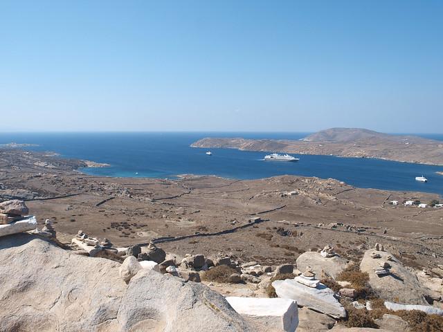 Mt. Kynthos (XVI)  AWIB-ISAW: Mt. Kynthos (XVI) The view ...