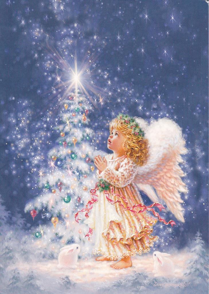 christmas angel greeting card 2010 christmas card rr 45. Black Bedroom Furniture Sets. Home Design Ideas