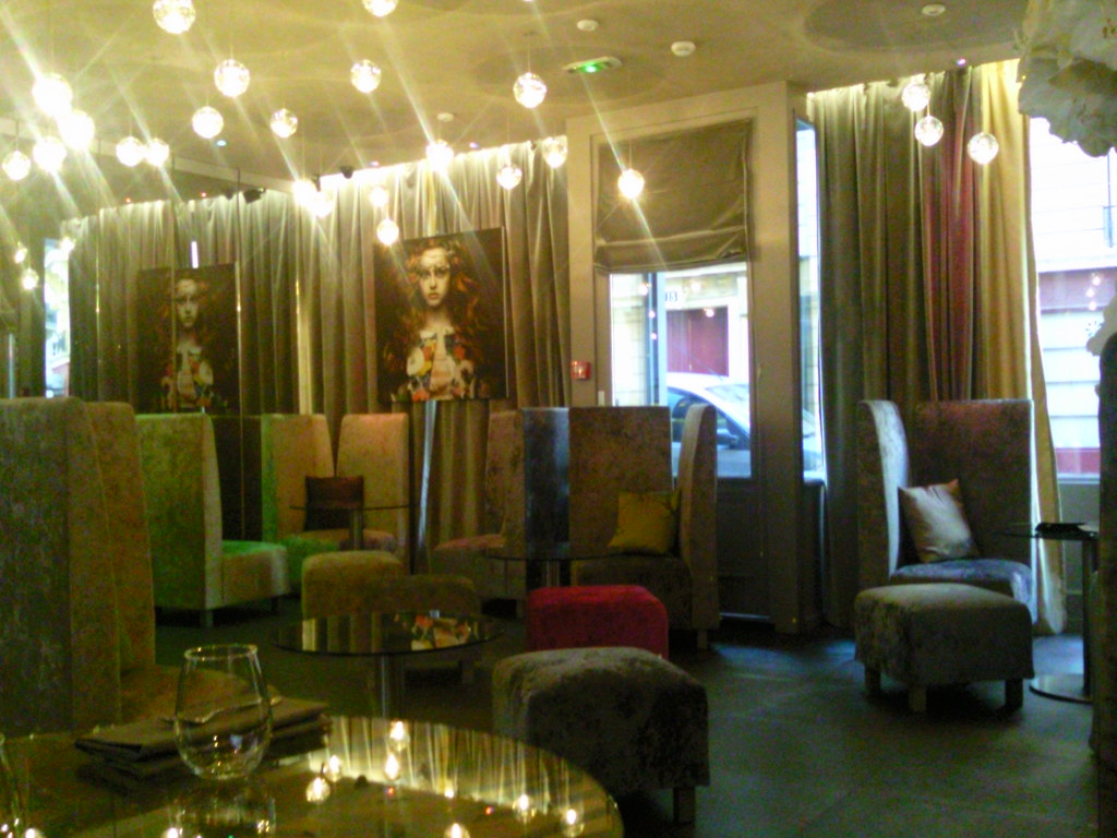 lobby at 7 hotel paris my review of seven hotel paris www flickr. Black Bedroom Furniture Sets. Home Design Ideas