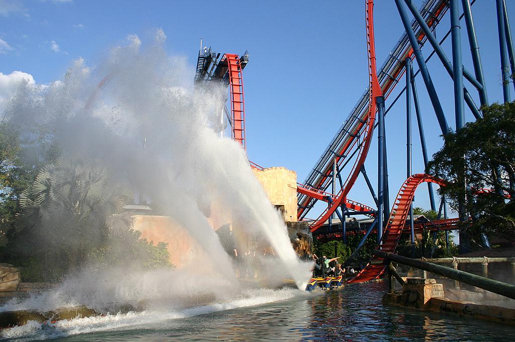 ... SheiKra Splash Zone   Busch Gardens, Tampa   Florida | By Andrew_Simpson