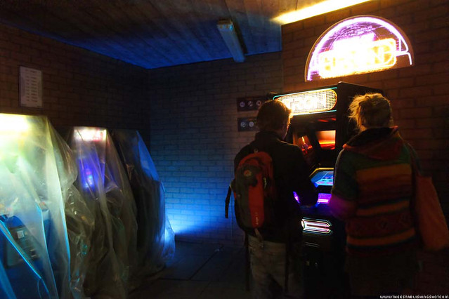 HP ePrint TRON: Legacy Experience - Inside Flynn's Arcade - London Southbank