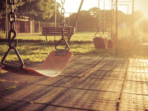 park   Swings are for swinging.   Barbara Mazz   Flickr