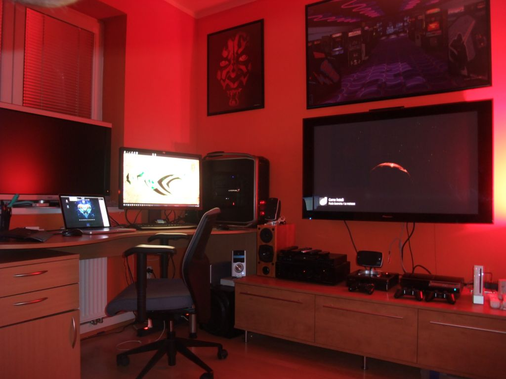 Inner Geek Igor Stanek S Game Room Blogs Nvidia Com