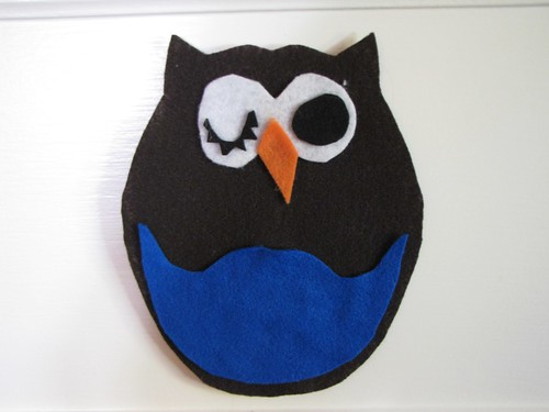 Crazed & Crafty: DIY Owl art | by it's just charlene.
