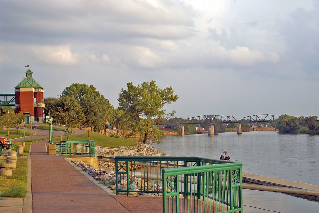 Riverwalk Clarksville Tennessee There Were Actually