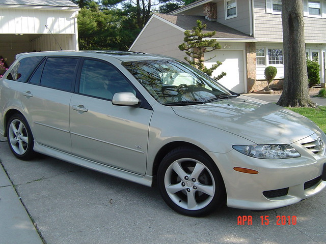 2004 mazda 6 wagon flickr photo sharing. Black Bedroom Furniture Sets. Home Design Ideas