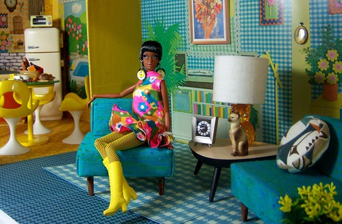 Vintage Mod Doll House~a work in progress | by partydolly