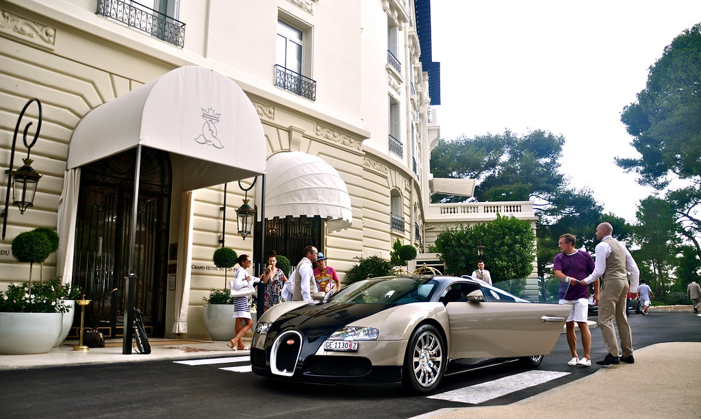 The Grand Hotel Du Cap Ferrat Bugatti Veyron 16 4 In St