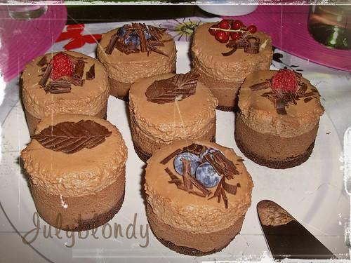 Martha Triple Chocolate Mousse Cake