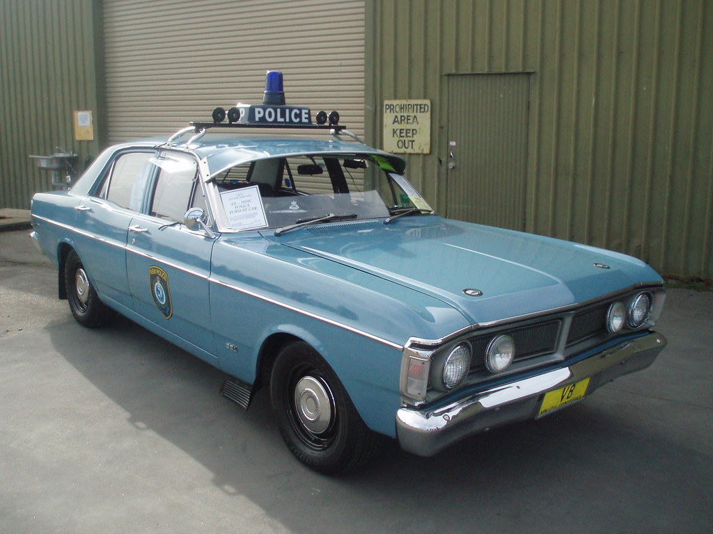 Ex Police Car Auctions >> 1971 Ford XY Falcon 500 - NSW Police | 1971 Ford XY Falcon ...