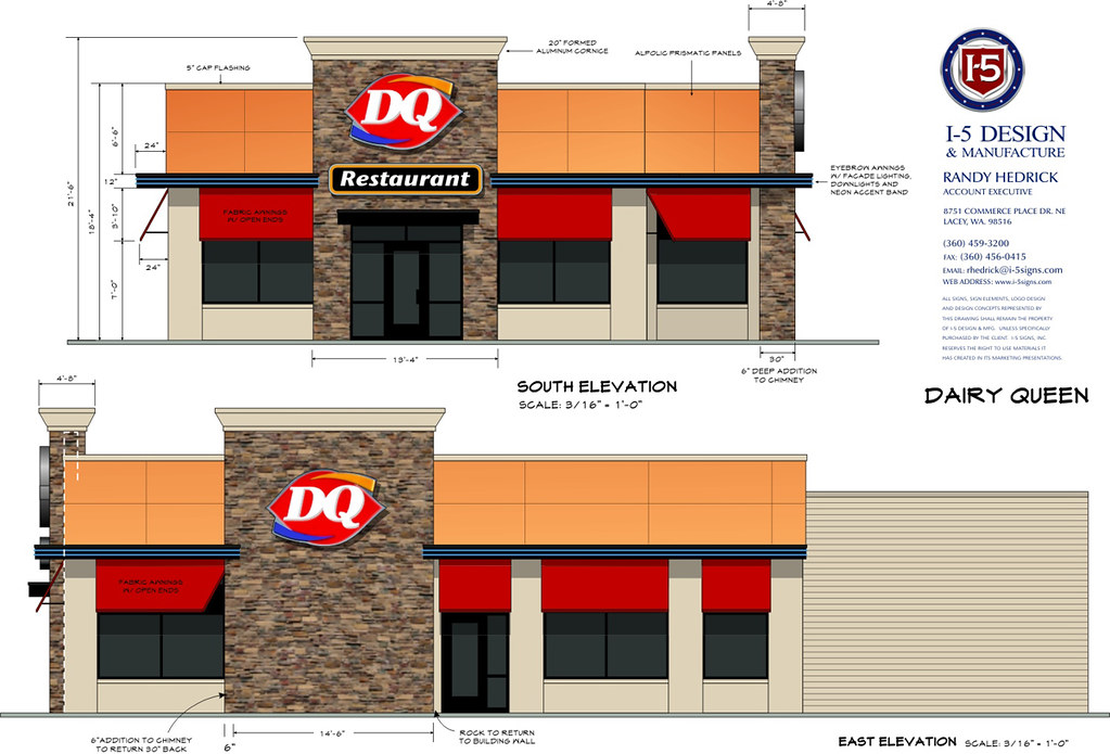 Franchise restaurant design detail drawings