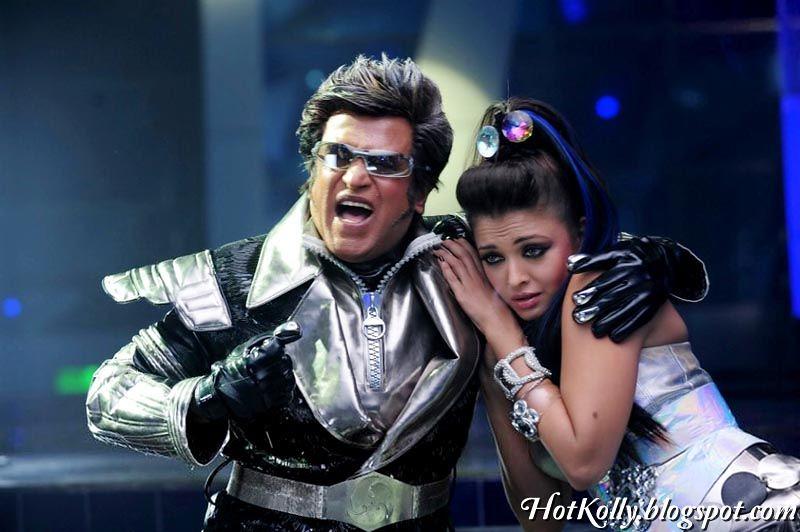 Super Star Rajinikanth Aishwarya Rai Enthiran Tamil Movie ...