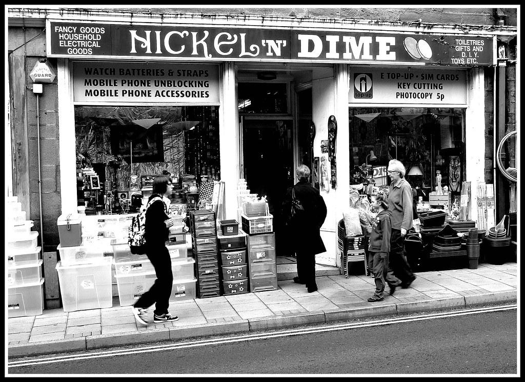Nickel N Dime Store Forfar 2010 By Ronramstew