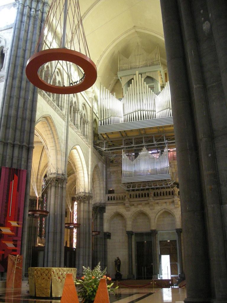Orgue de la basilique cath drale notre dame de la treille - Eglise notre dame de la treille lille ...