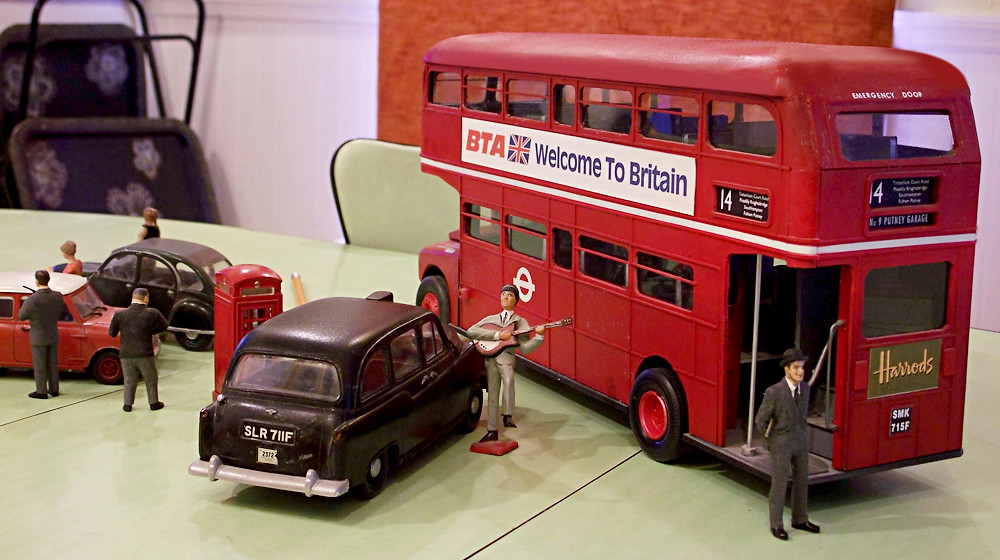 1 24 scratch built london routemaster doubledecker bus flickr. Black Bedroom Furniture Sets. Home Design Ideas