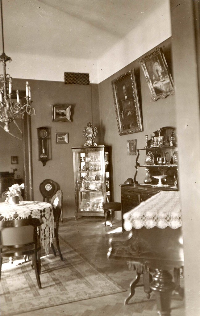 1920s home interior budapest the dining room taken by for Bathroom ideas 1920s home