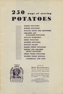 250 ways of serving potatoes_tattered and lost | by tattered_lost