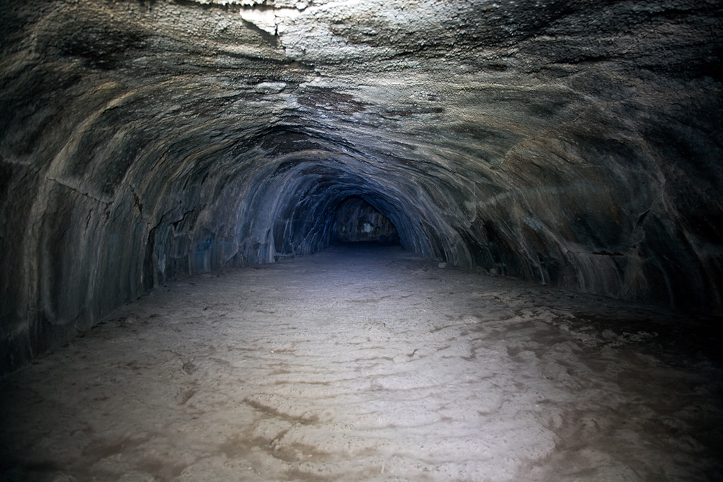 Subway Cave A Lava Tube Lassen Volcanic National Park