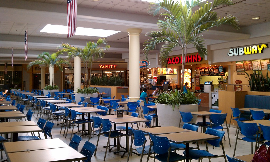 Merle Hay Mall Food Court