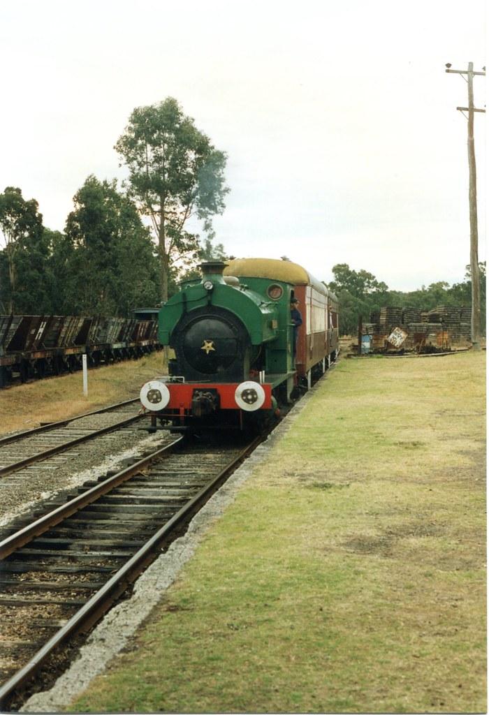 Marjorie  Richmond Vale Railway Museum 1996  Marjorie